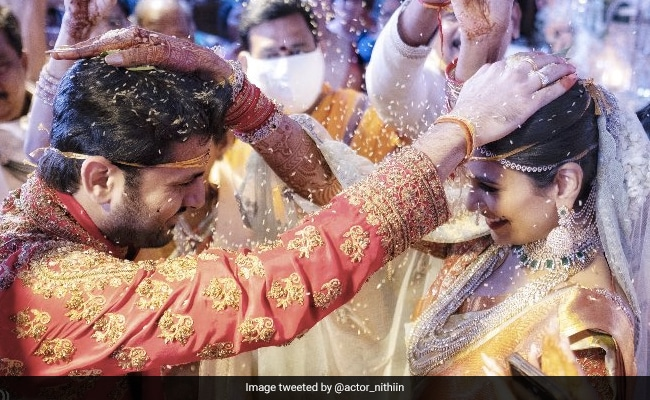 Trending: More Pics From Nithiin And Shalini's Fairytale Wedding