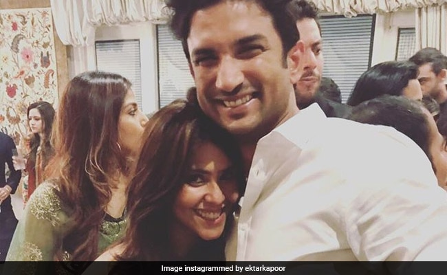 What Sushant Singh Rajput's First Producer Ekta Kapoor Wrote A Month After His Death