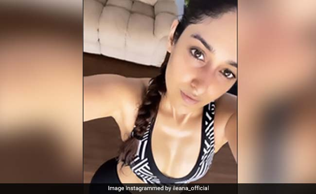 Ileana D'Cruz, In A Workout And Repeat Mode These Days, Shares Pic From Her Fitness Session