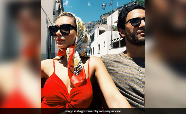 Pics From Amy Jackson And Fiance George Panayiotou's Italy Vacation