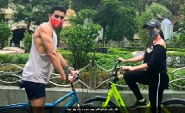 Here's What Sara Ali Khan And Brother Ibrahim Did On Their Day Out