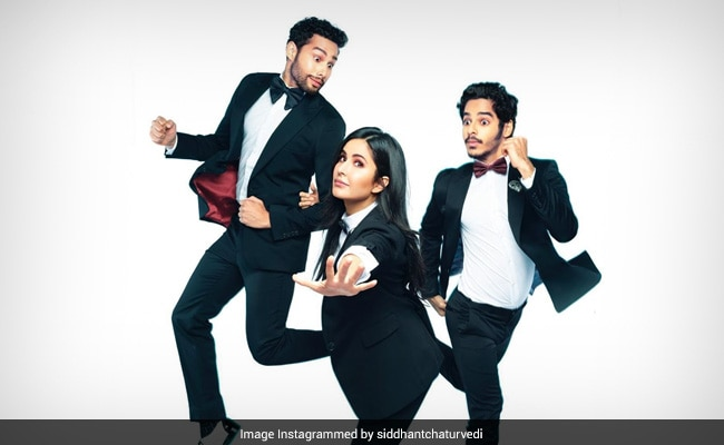 Phone Bhoot: Meet Desi Ghostbusters Katrina Kaif, Siddhant Chaturvedi And Ishaan Khatter