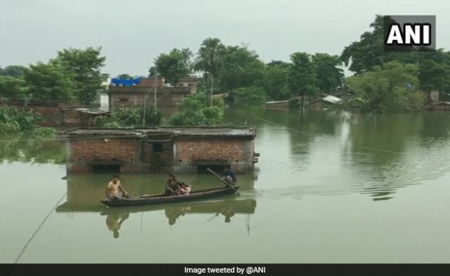 More Than 45 Lakh People Affected In Bihar Floods