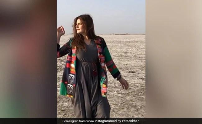 जरीन खान ने शेयर किया Video, जबरदस्त अंदाज में झूमती हुई आईं नजर