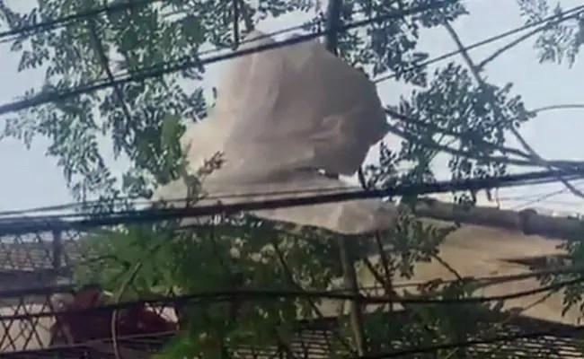 दिल्ली के सीआरएम पार्क में शख्स ने खुले में फेंकी पीपीई किट, पुलिस ने मामला दर्ज किया