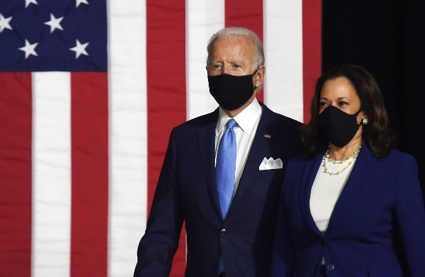 'US Crying Out For Leadership': Kamala Harris In First Address With Joe Biden