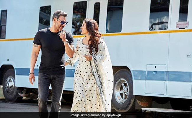 'Forever And Always': Ajay Devgn's Birthday Wish For Wife Kajol Will Melt Your Heart