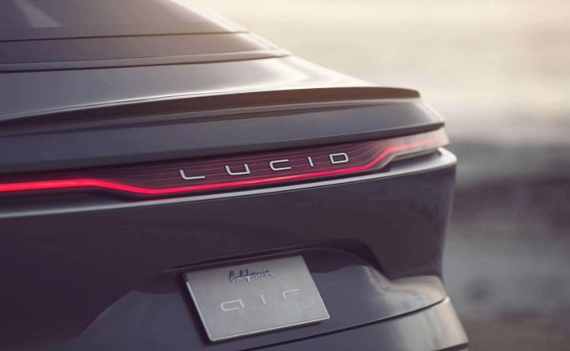 The battery technology on the Lucid Air will be revealed on September 9