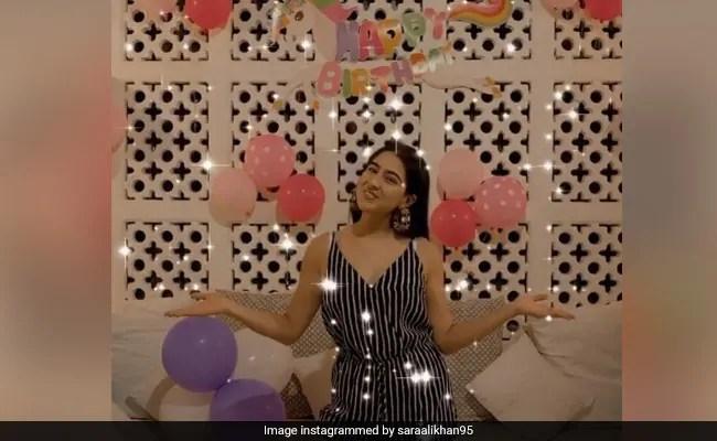 At Sara Ali Khan's Birthday Celebrations, Balloons, Cakes And A Unicorn