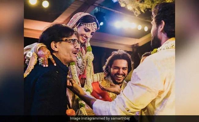नई तस्वीरें: यह उनकी शादी में कितना मजेदार है मिहिका बजाज और राणा दग्गुबाती