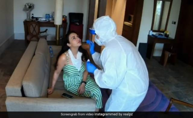 'Happy And Relieved,' Writes Preity Zinta After Third Negative COVID-19 Test In Dubai
