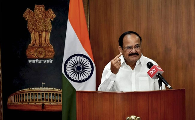 Indian Vice President Venkaiah Naidu Tests Positive For COVID19