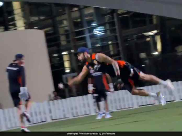 Virat Kohli, AB De Villiers Show Off Fielding Prowess In RCB Training. Watch