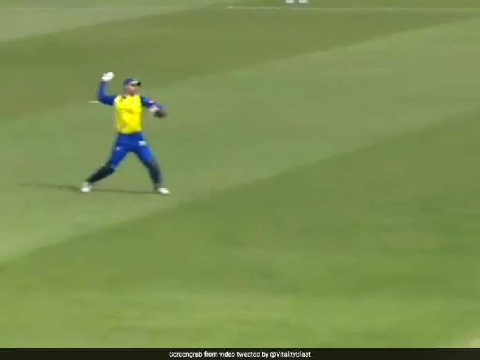 Vitality Blast: Wicket-Keeper Pulls Off Stunning Run Out With Rocket Throw. Watch