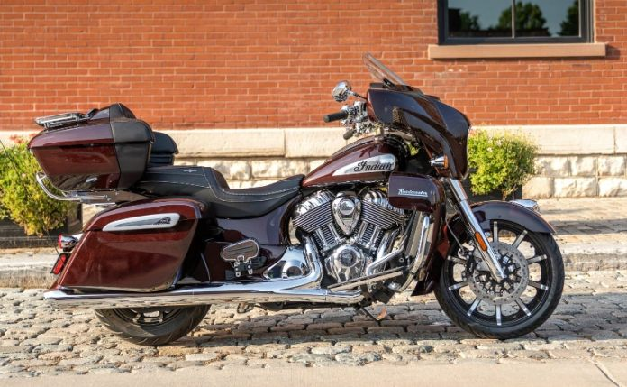 The 2021 Indian Roadmaster Limited gets new colours and additional features