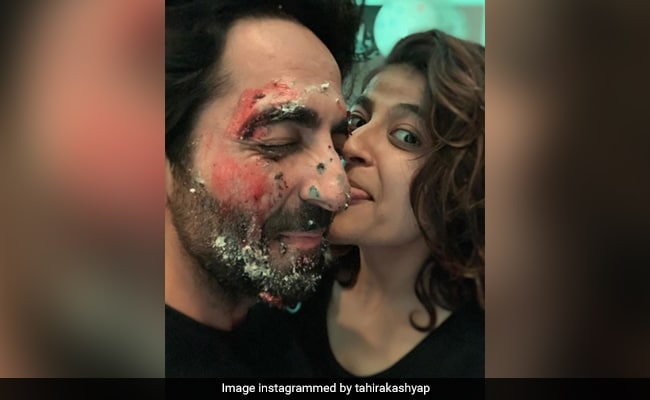 On Husband Ayushmann Khurrana's Birthday, Tahira Relishes This Special Cake. See Pic