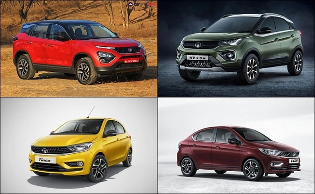 Discount benefits are applicable on the BS6 Nexon, Tigor, Tiago & the Harrier SUV