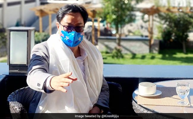 Kiren Rijiju To Launch Construction Of Sports Infrastructure In Ladakh