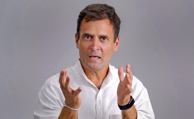 Saddam Hussein, Gaddafi Used To Win Elections Too, Says Rahul Gandhi
