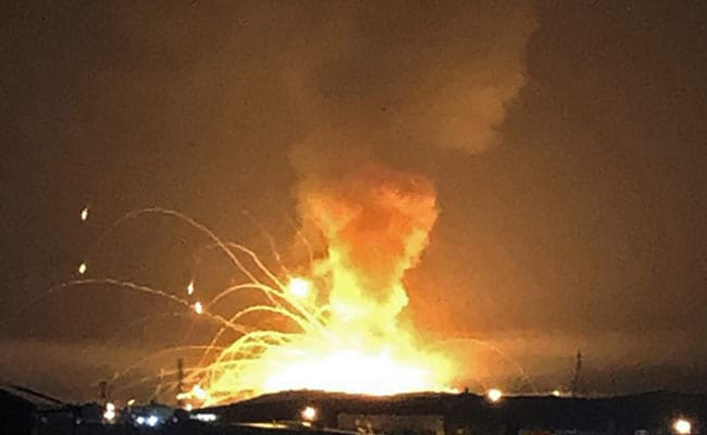 Huge Explosion At Jordan Military Arms Depot, No Casualties