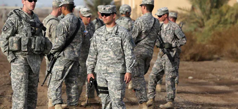 ड्रोन हमला टारगेट इराक में अमेरिकी सैन्य अड्डा