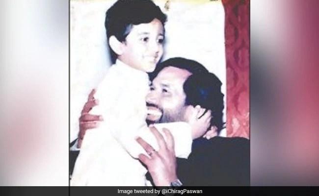 'Miss You Papa': Chirag Paswan Tweets Nostalgic Photo With Father