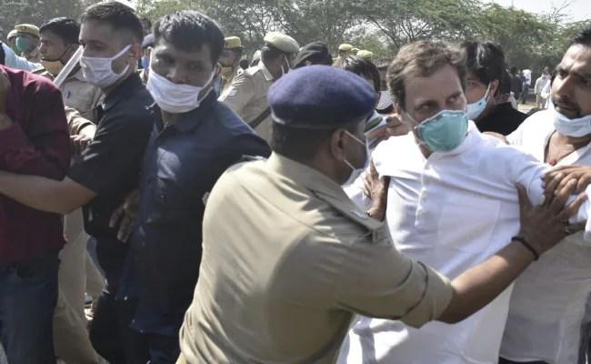 ब्रीफ डिटेंशन के दो दिन बाद, राहुल गांधी आज हाथरस जाएं