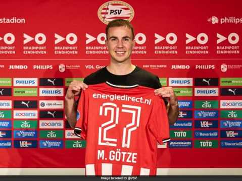 Germany's World Cup Hero Mario Goetze Joins PSV Eindhoven | Football News
