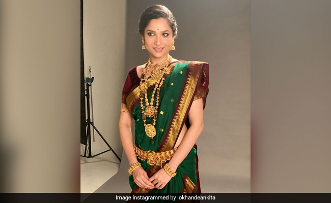 Navratri 2020: Ankita Lokhande Shares Her Festive Look. The Internet Loves It