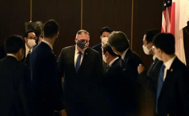 With Eye On China, Pompeo Meets 'Quad' Partners India, Japan, Australia