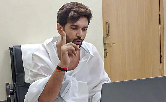 Chirag Paswan Writes To Lok Sabha Speaker Over Notice Favouring Uncle