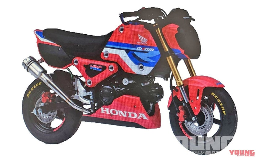 Reports indicate that the 125 cc mini-bike, the Honda Grom, may be updated for 2021
