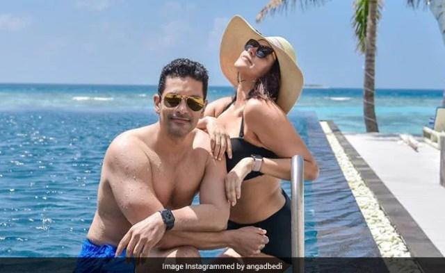नेहा धूपिया पति अंगद बेदी के साथ मालदीव में यूं छुट्टियां इंज्वॉय करती आईं नजर, देखें Photo