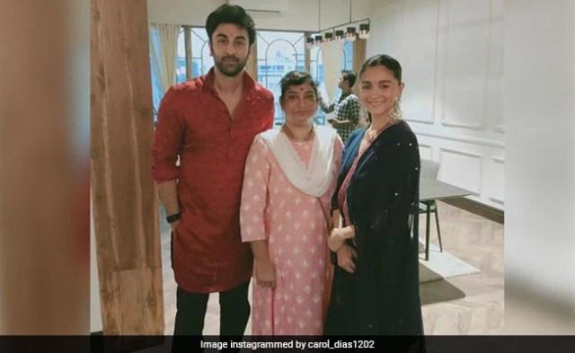 Viral: Pics From Alia Bhatt And Ranbir Kapoor's Diwali Celebrations
