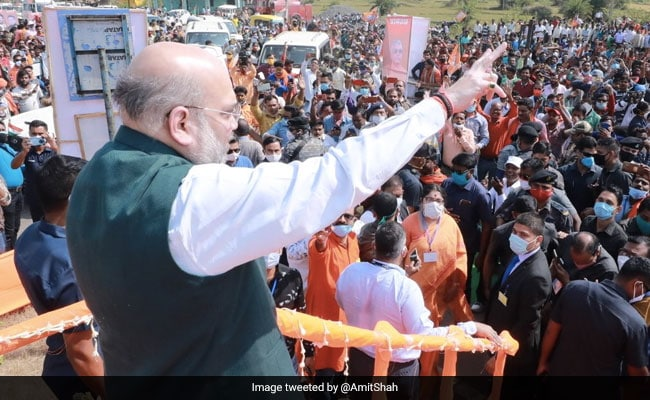 'Public Anger Against Mamata Banerjee, BJP Will Win': Amit Shah In Bengal