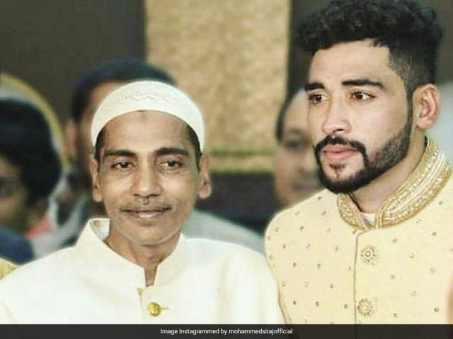 """""""Tremendous Character"""": Sourav Ganguly Posts Condolence Message For Mohammed Siraj On His Fathers Death"""