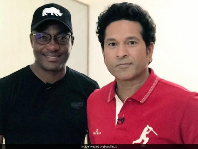 Sachin Tendulkar, Brian Lara Rekindle Rivalry On The Golf Course. Watch