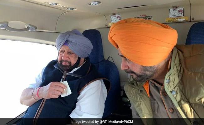 In Punjab Congress Crisis, A Meeting Raises New Worry For Navjot Sidhu