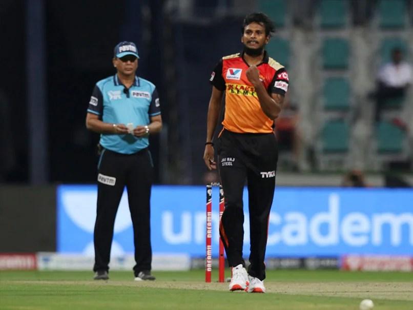 T Natarajan Ruled Out Of IPL Due To Injury, SunRisers Hyderabad Wish Him