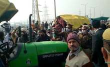 04lua6ss farmer protest farmers march delhi roads
