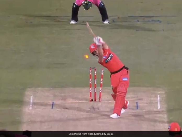 """""""Thought It Was Time"""": David Warner Trolls Melbourne Renegades Batting vs Sydney Sixers In BBL 2020"""