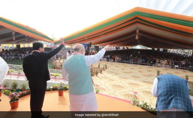 Assam Launches Projects Worth Rs 755 Crore In Presence Of Amit Shah