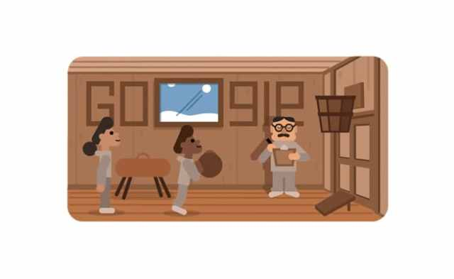 Google Doodle's 'Thank You' To James Naismith, The Father Of Basketball