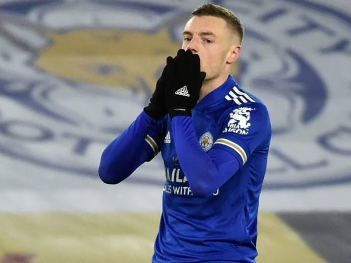 Leicester City Suffer Huge Blow As Striker Jamie Vardy Ruled Out For