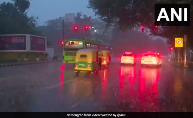Moderate To Heavy Rain In Delhi, Nearby Areas For Second Consecutive Day