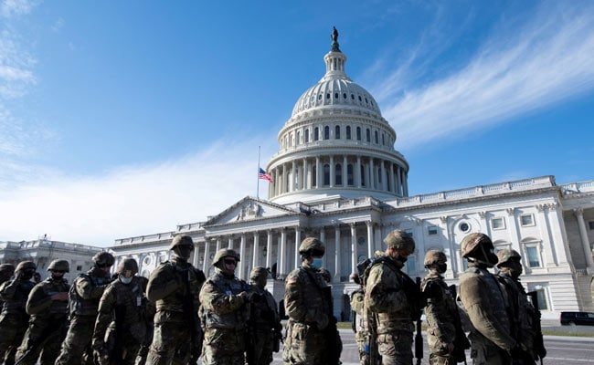 US National Guard Exits Capitol For The First Time After January 6 Attack