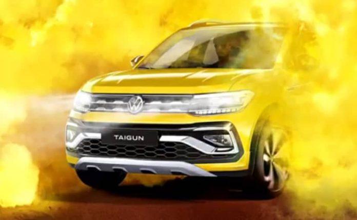 फॉक्सवैगन Taigun SUV इस साल भारत में लॉन्च होने की संभावना है।