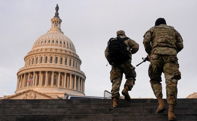 US Man Who Breached Senate Chamber During Capitol Riots Gets 8-Months In Jail