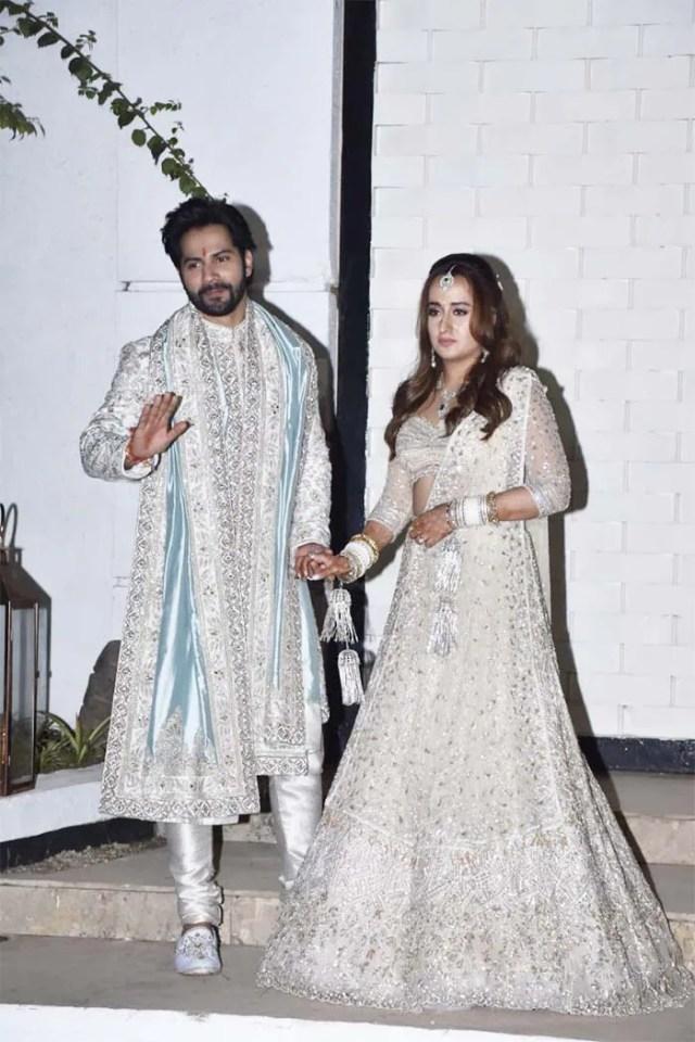 Varun Dhawan And Natasha Dalal Are Married-First Photos