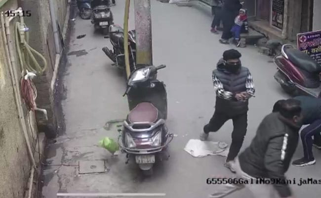 Caught On CCTV: Delhi Murder As Children Skated Past In Busy Locality
